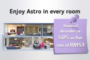 astro promotion - multuroom promotion