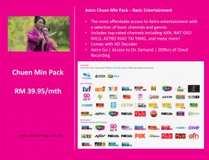 Astro Chuen Min Package Detail