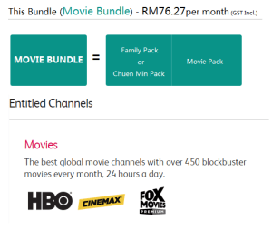 Astro Package - Movie bundle