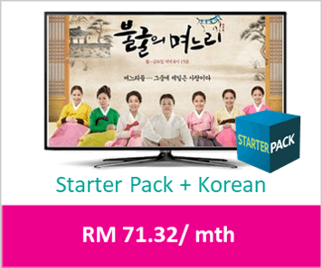 Astro Package - Starter Pack Korean Detail