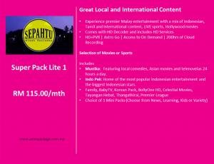 Astro Package - SuperPack Lite 1 Detail