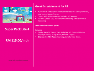 Astro Package - SuperPack Lite 4 Detail