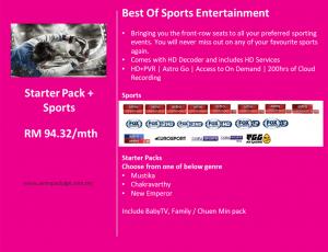 Astro Starter Pack Sports Detail